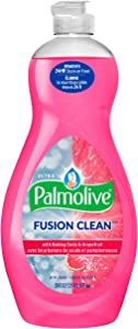 Palmolive Ultra Dish Liquid, Fusion Clean with Baking Soda and Grapefruit, 20 Ounce