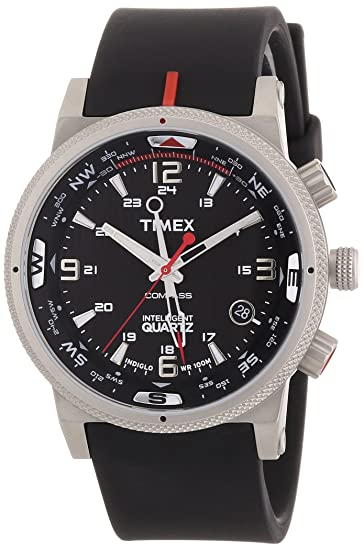 44d6c083447b Timex T49817 Mens Expedition E-Compass Silicon Strap Watch  Amazon.ca   Watches