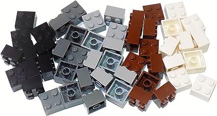 Lego 10 Dark Tan 2x3 base plate NEW