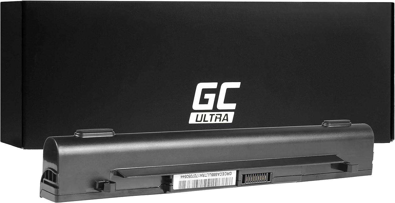 Les Cellules Originales Panasonic, 3400mAh, Noir Green Cell/® Ultra S/érie Batterie pour ASUS R510JX-DM225T Ordinateur PC Portable