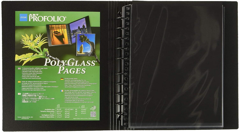 Amazon Art Portfolio Standard Binder Multi Ring Album Size 85 X 11 Photo Presentation Portfolios Camera
