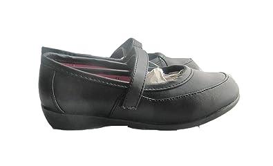 BRAND NEW GIRLS BLACK SCHOOL SHOES sizes 10-2