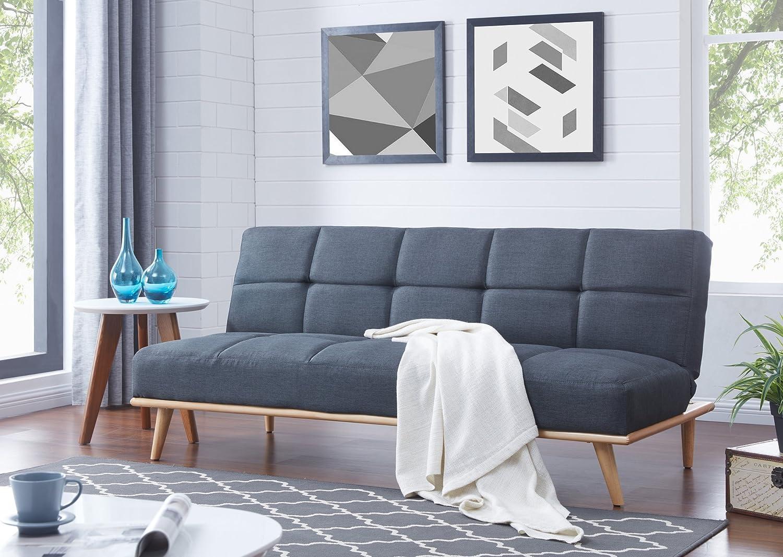 Bestmobilier – Zara – Sofá-cama escandinavo, 3 plazas, 182 x 83 x ...