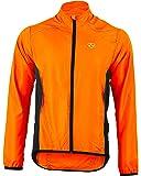 Deportes Hera Ropa Ciclismo Chaqueta Paraviento Wind Stopper y Repelente al Agua Ciclistas Hombre Chubasquero