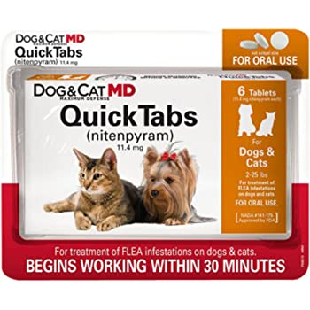 Dog Cat Md Flea Teabs Review