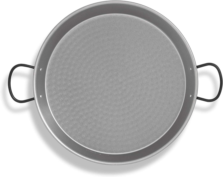 Metaltex - Paellera pulida 55 cm