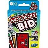 Monopoly Bid Card Game Versión Español