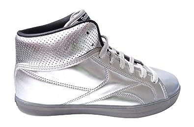 b5bf8ed93a64 Reebok Classic T Raww Mens Silver Sneakers