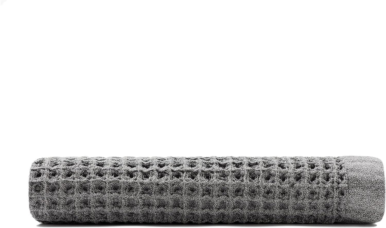 Onsen Bath Towel - 100% Supima Cotton, Lightweight, Cinder Grey