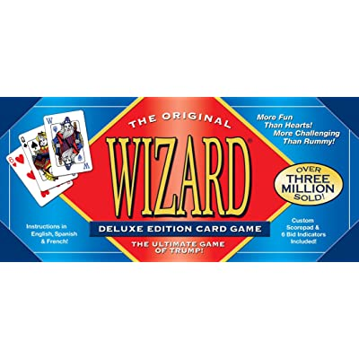 Wizard Card Game: Not Available: Toys & Games