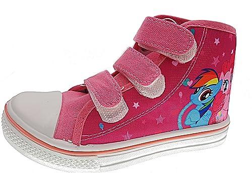 PICCOLI MONELLI Scarpe Bambina Sneakers My Pony con Strappi tg 29 ... b57878f0938