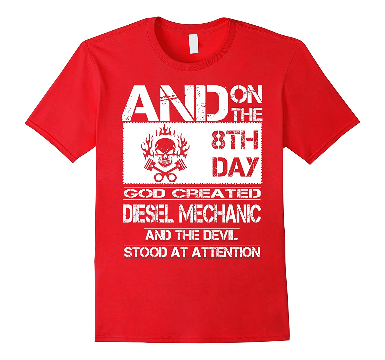 and on the 8th day god created diesel mechanic and the devil-BN