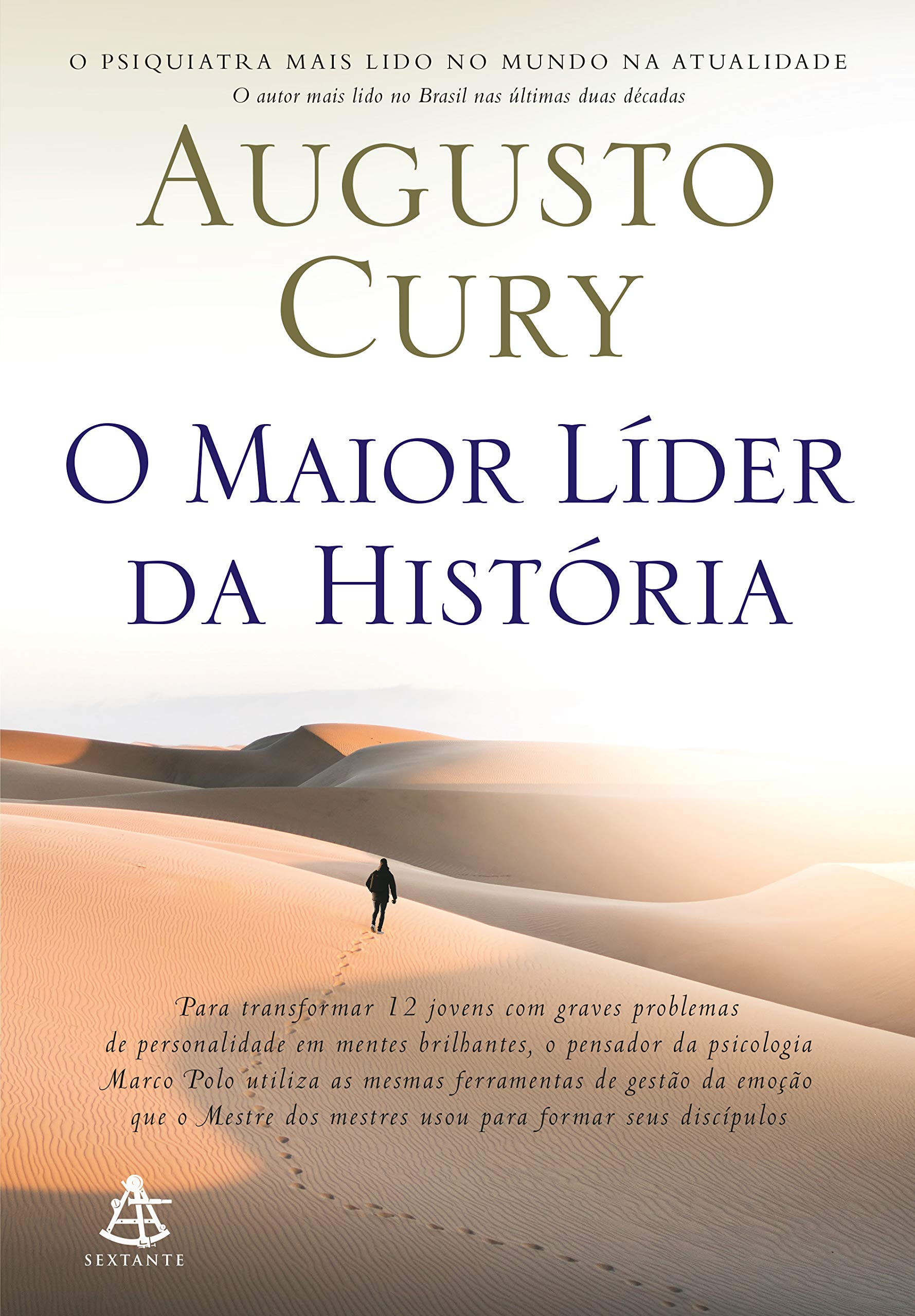 Livro 'O maior líder da história' por Augusto Cury
