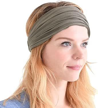 Japanse Bandana Haarband voor Mannen en Vrouwen - Comfy Lichtgewicht Elastische Head Bands perfect voor Fitness Sport Voetbal Tennis Joggen
