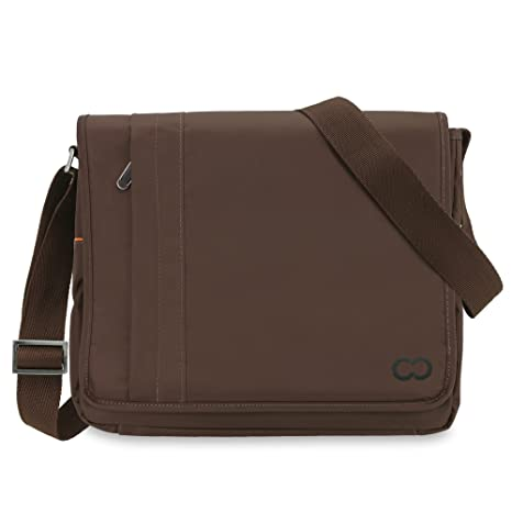 bfb52f413f36 CaseCrown Poly Messenger Bag (Brown) for 11 Inch Apple MacBook Air