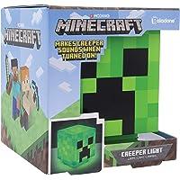 Paladone PP6595MCF Lámpara de mesita Creeper Minecraft, Verde