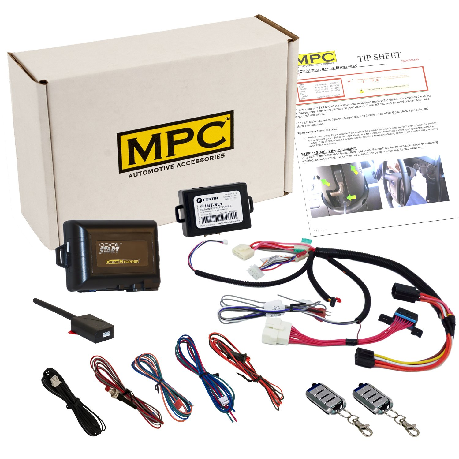 Plug Play Remote Start Keyless Entry For Sierra 2003 Gmc Yukon Denali Wiring Harness Silverado 2007 Classic This Kit Offers The Easiest Installation Available On