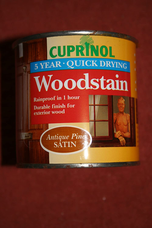Cuprinol woodstain antique pine satin 250ml amazon co uk diy tools