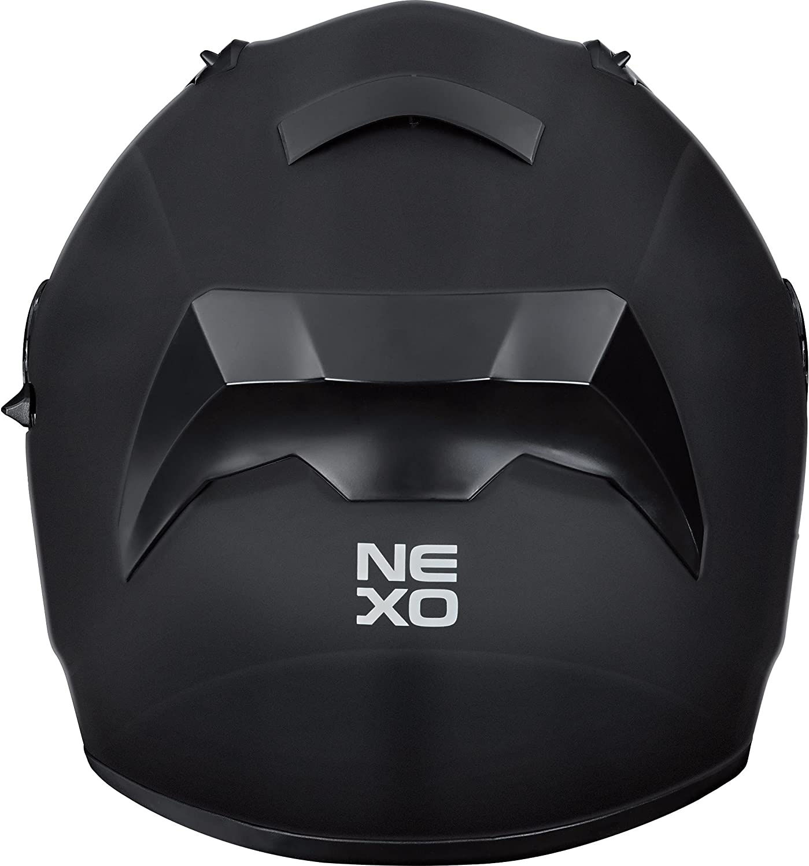 verschiedene Dekore Nexo Integralhelm Motorradhelm Helm Motorrad Mopedhelm Sport II Ratschenverschluss klares Visier Windabweiser Entl/üftung Be- XS-XL herausnehmbare Polster