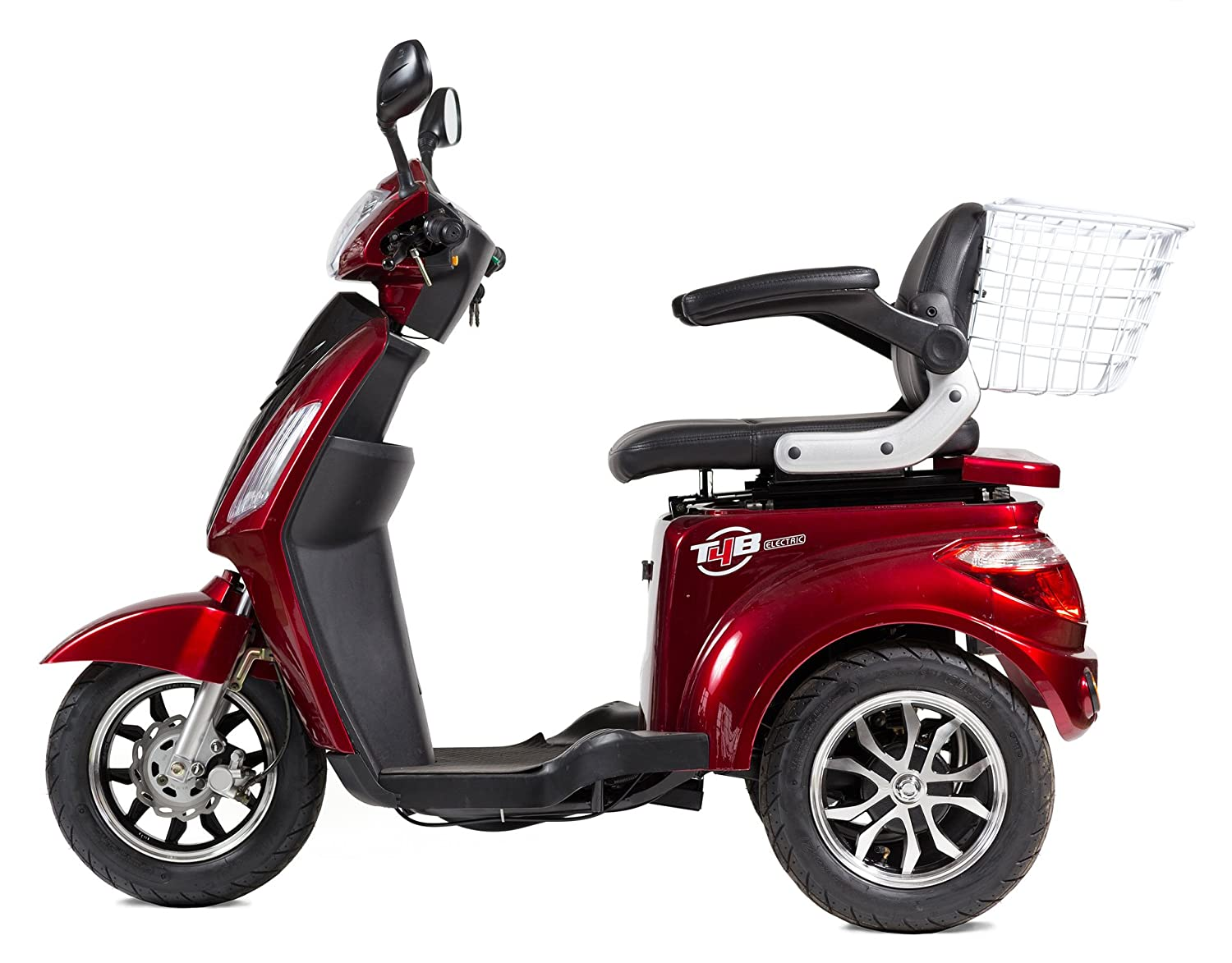 T4B LU-500W Mobility Electric Scooter 48V20AH with Three Speeds,  14/22/32kmph: Amazon.ca: Sports & Outdoors