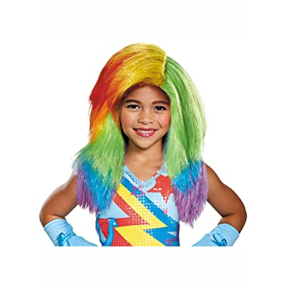 Rainbow Dash Movie Child Wig: Toys & Games