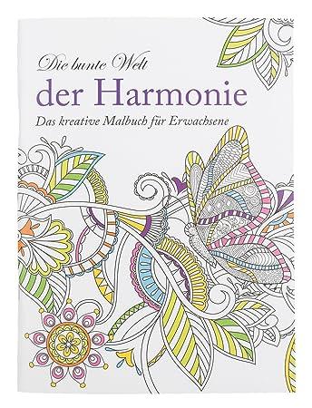 Idena 68136 - Malbuch für Erwachsene, Motiv Harmonie, 64 Seiten ...