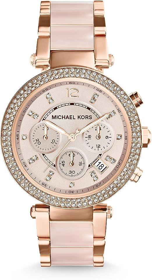sale michael kors rose gold watch