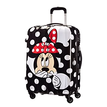 American Tourister - Disney Legends Spinner Maletas y Trolleys, M (65 cm -52 litros), (Minnie Dots): Amazon.es: Equipaje