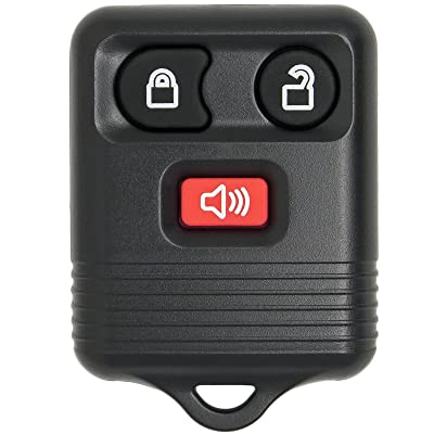 Keyless2Go Keyless Entry Car Key Fob Replacement for Vehicles That Use 3 Button CWTWB1U331, Self-programming: Automotive