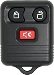 Keyless2Go Keyless Entry Car Key Fob Replacement for Vehicles That Use 3 Button CWTWB1U331, Self-programming