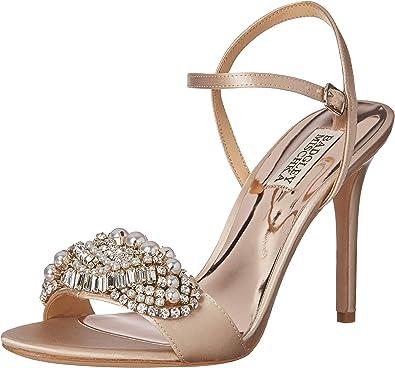 Badgley Mischka Womens Fiorenza Heeled Sandal