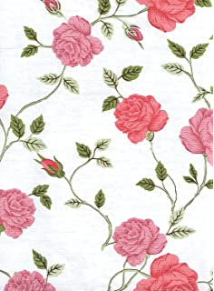 Manchester Rose Vinyl Tablecloth, 60 Inch Round