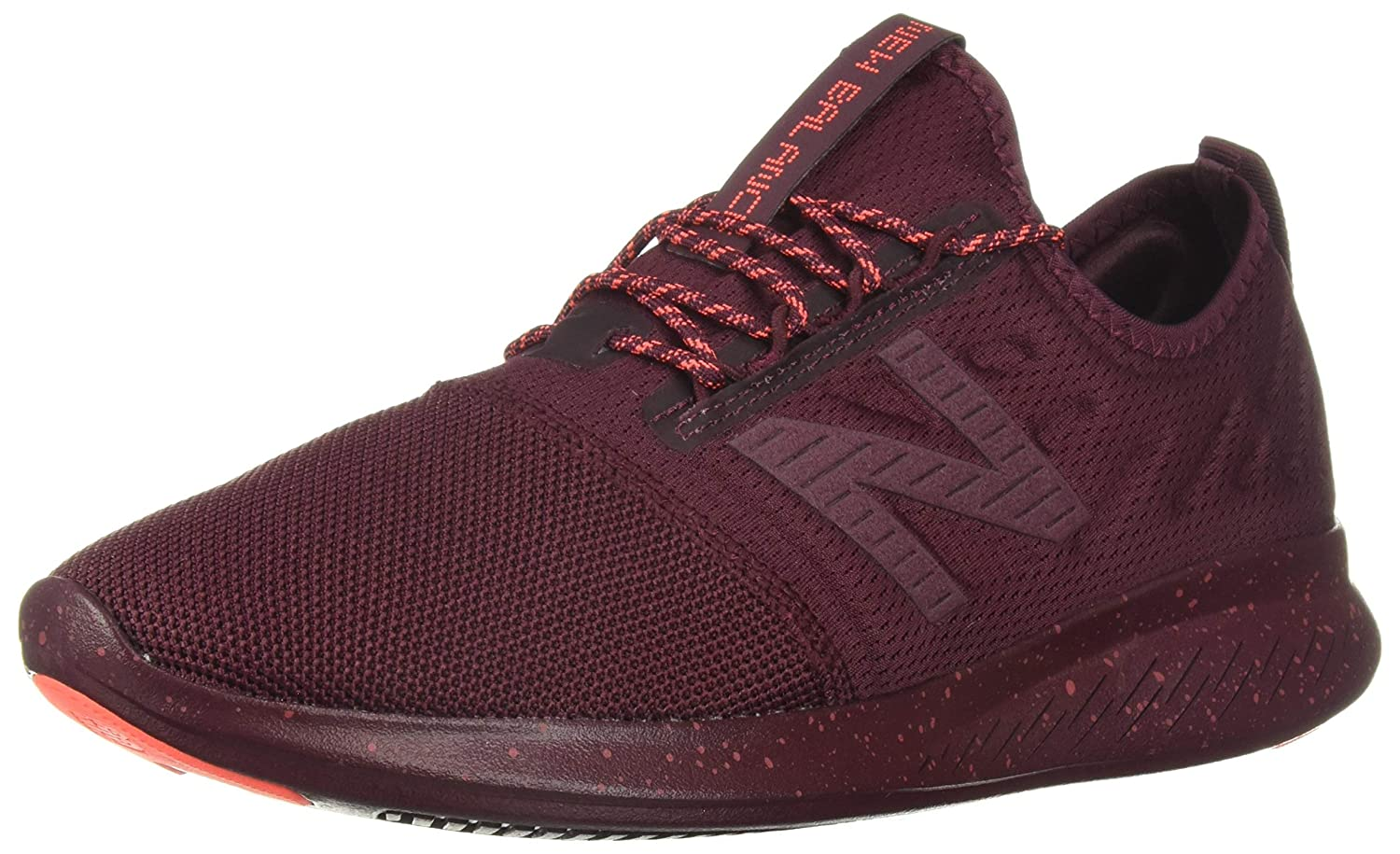 Nubuck Burgundy Earth rouge Dragonfly New Balance Fuel Core Coast V4, Running Femme 40.5 EU