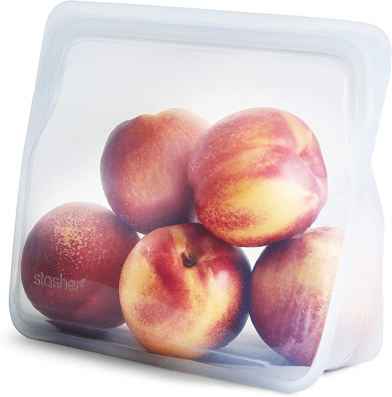 Stasher Silicone Reusable Freezer Bag