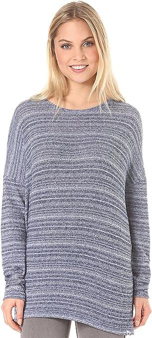 TALLA M. Volcom Sudadera Lived en Go Sudadera Sudadera Mujer Azul, Mujer, Lived in Go Pulli Sweatshirt Pullover Damen Blau
