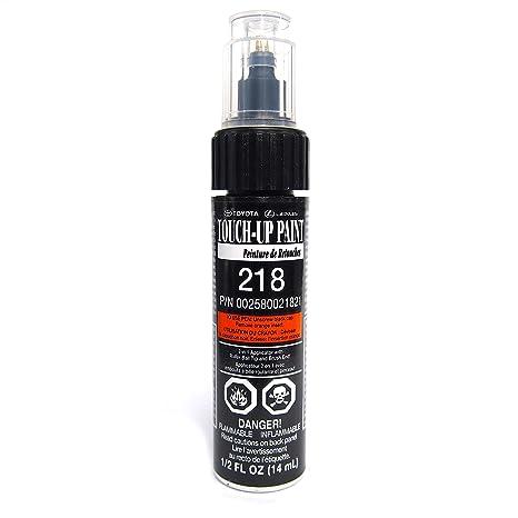 Genuine Toyota 00258 00218 21 Attitude Black Top Touch Up Paint Pen 1 2 Fl Oz 14 Ml