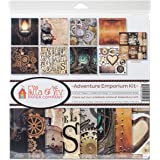 STEAMPUNK For COLORISTS Card Making /& Paper Crafting HOT OFF THE PRESS 8502 New
