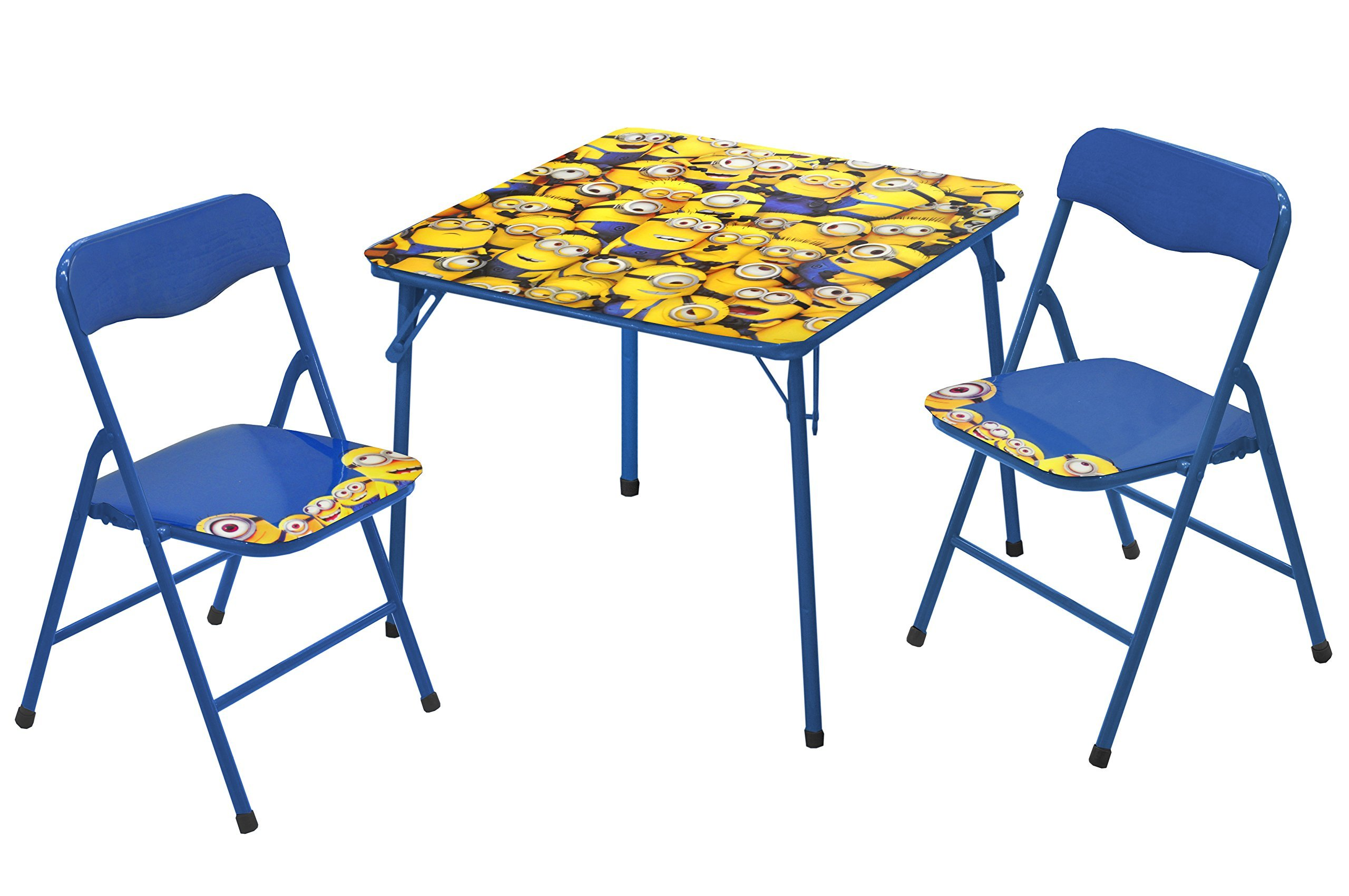 Universal Despicable Me 3 Piece Table and Chair Set