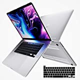 """i-Blason Halo V2.0 Case for MacBook Pro 16 inch (2019 Release), Ultra Slim Translucent Hard Case Protective Clear Cover for New MacBook Pro 16"""" with Touch Bar and Touch ID (Frost/Clear)"""