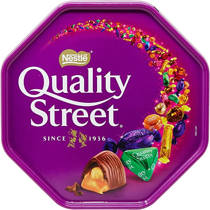 Quality Street Chocolates and Toffees Tub 750 g: Amazon.co.uk: Grocery