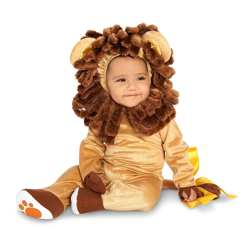 Rubies Costume Infant Noah Ark Lion Cub Romper 6-12 Months Toy Ki Brown//Beige