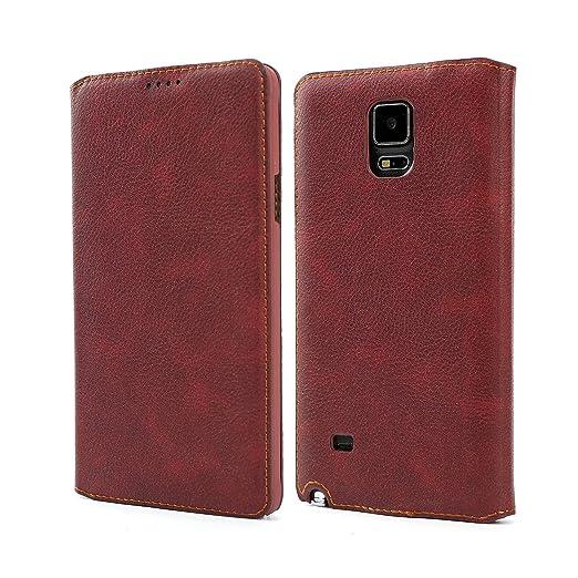 2 opinioni per Custodia Samsung Galaxy Note 4, Coodio Premium Custodia in Pelle, Custodia