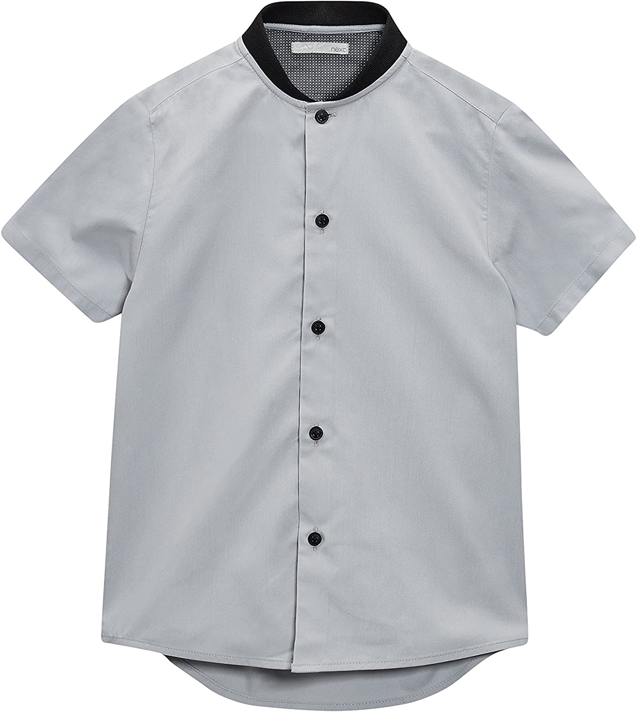 next Niños Camisa Béisbol Manga Corta (3-16 Años) Corte Estándar Gris 16 años: Amazon.es: Ropa y accesorios