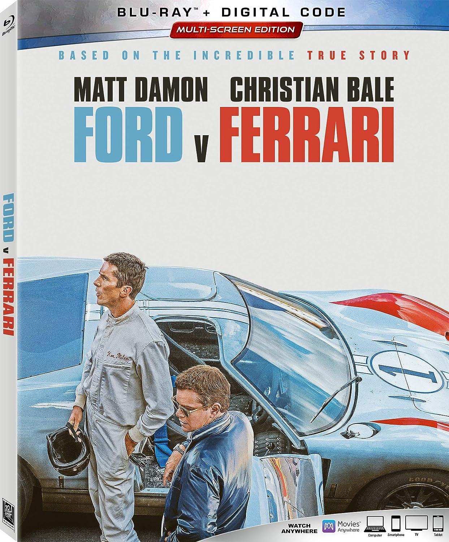 Amazon Com Ford V Ferrari Blu Ray Matt Damon Christian Bale Jon Bernthal James Mangold Movies Tv