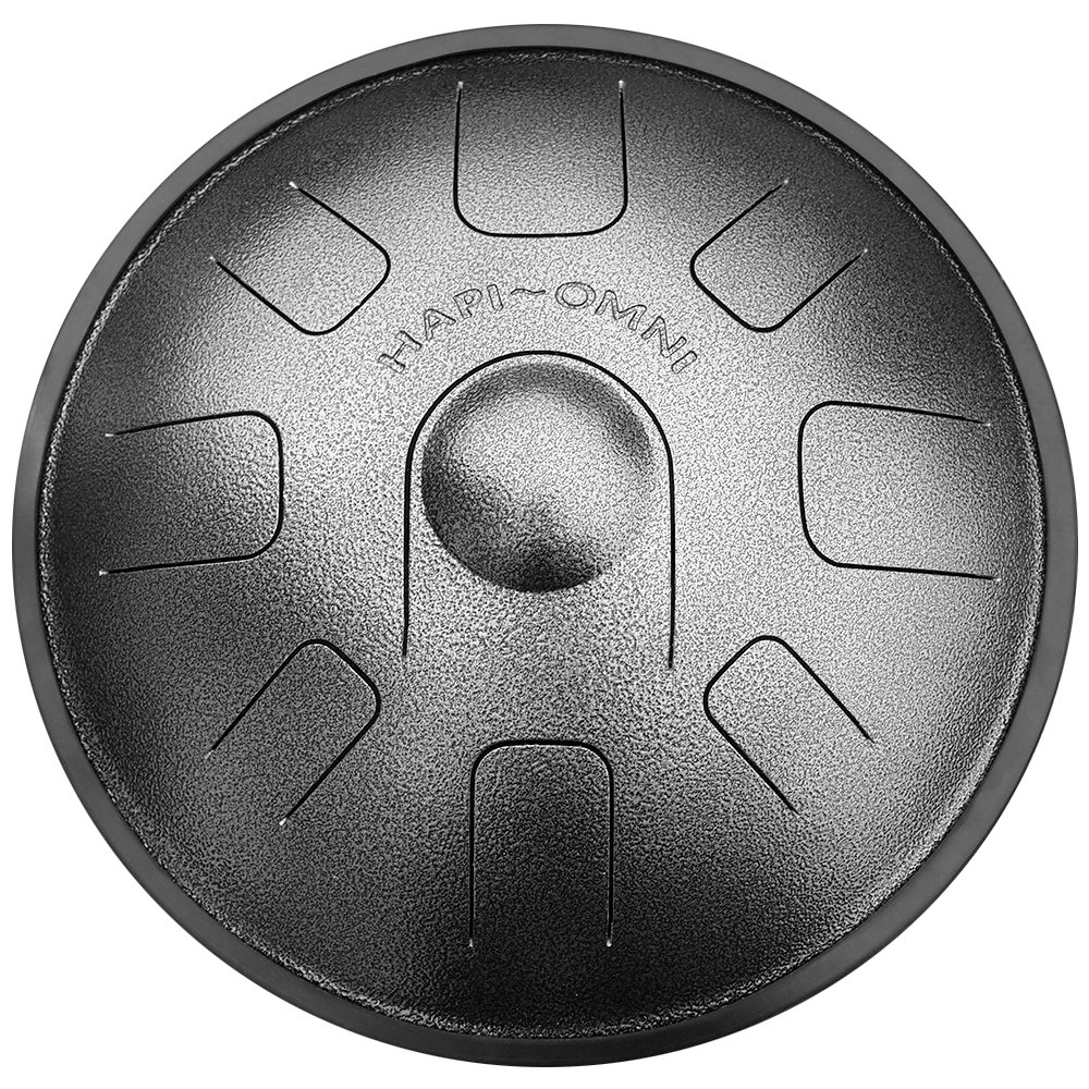 HAPI HDOMNIFMJ Omni Steel Tongue Percussion Drum - F Major with travel backpack