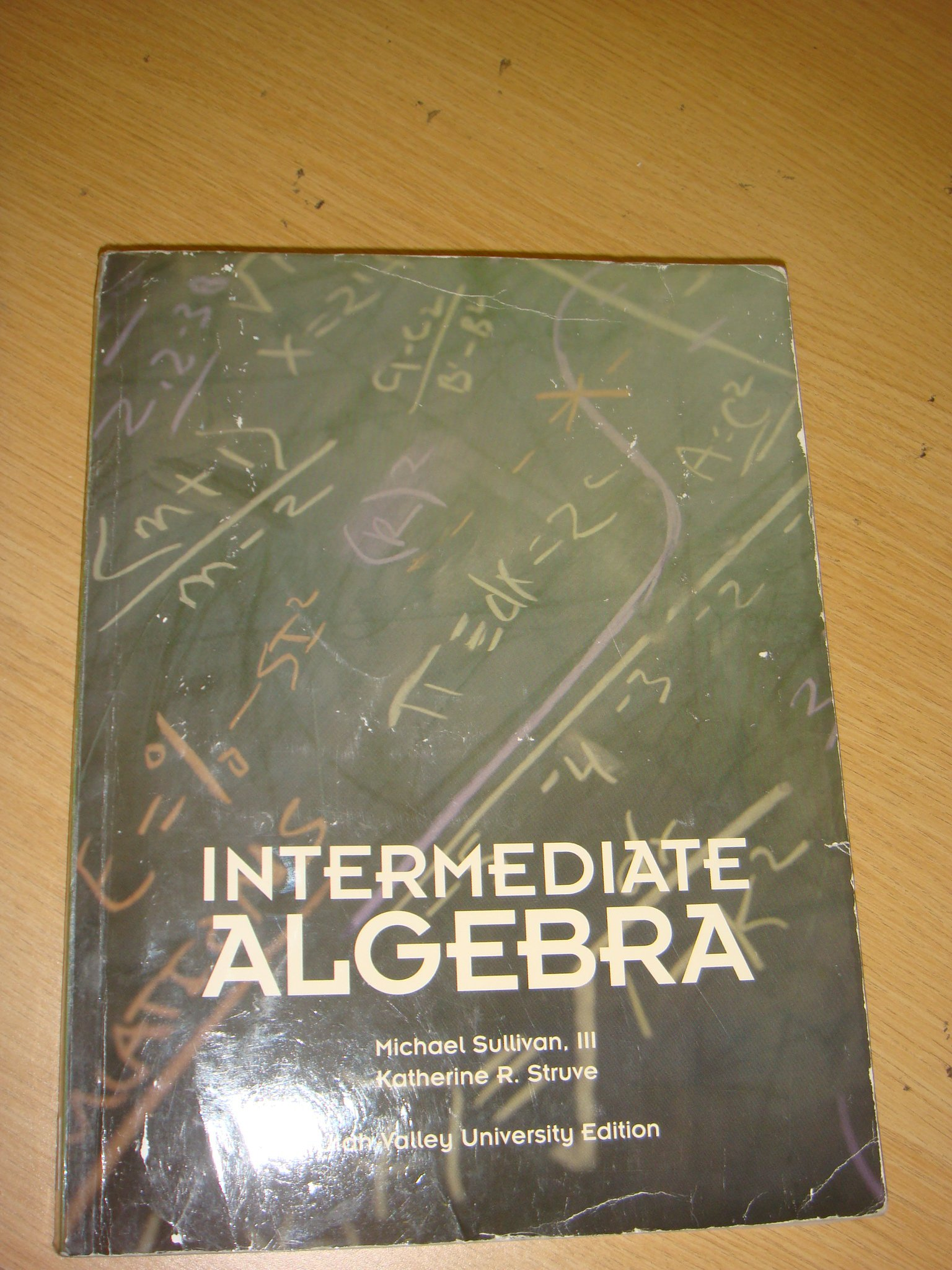 Intermediate Algebra Utah Valley University Edition (Based on 2nd edition) PDF