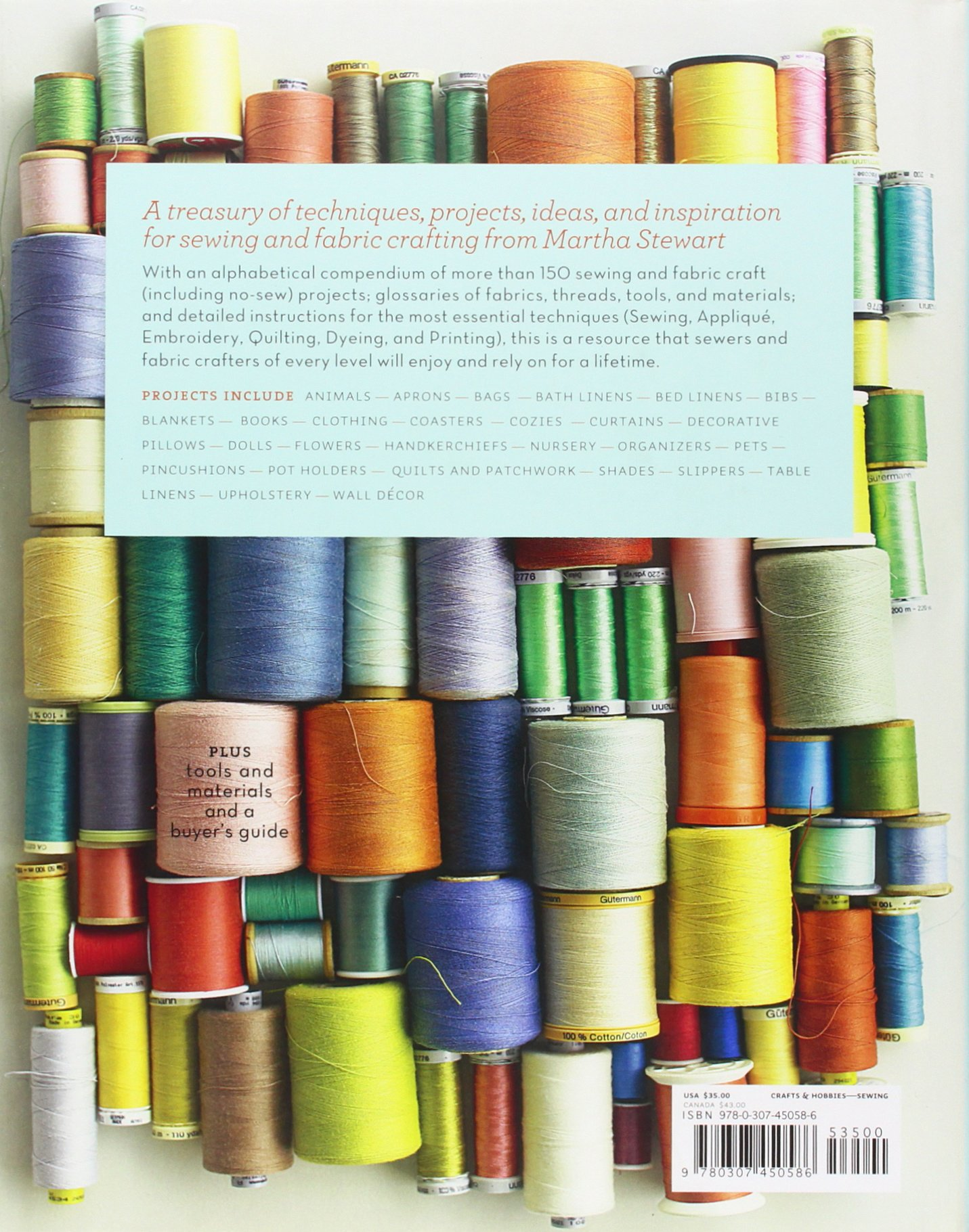 Martha stewarts encyclopedia of sewing and fabric crafts basic martha stewarts encyclopedia of sewing and fabric crafts basic techniques for sewing applique embroidery quilting dyeing and printing watchthetrailerfo