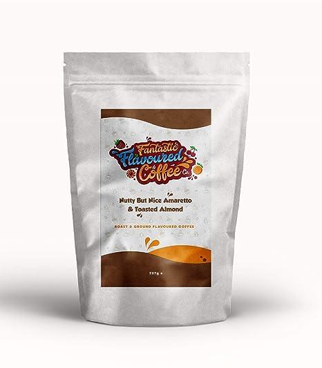 Café Molido Tostado Aromatizado, Fantastic Flavoured Coffee Company, Compatible con Todas las Cafeteras,