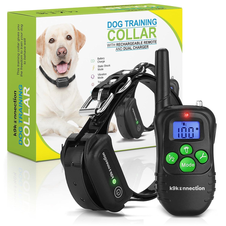 Amazon.com : K9KONNECTION Dog Training Collar with Remote ...
