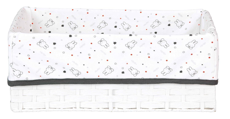 bébé-jou 302465 Disney Tigger Pflegekörbchen 32.5 x 22 cm, schwarz/weiß schwarz/weiß